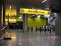 Národní třída, nový vestibul metra, vstup.jpg