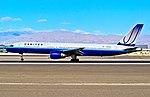 N515UA 1990 United Airlines Boeing 757-222 C-N 24840-306 (6480894661).jpg