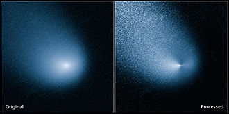 C/2013 A1 - Image: NASA 14090 Comet C2013A1 Siding Spring Hubble 20140311