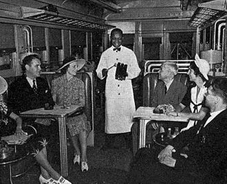 NBC chimes - In 1938, NBC reached an agreement with the Baltimore and Ohio Railroad to use the G-E-C tones to summon rail passengers for meals.