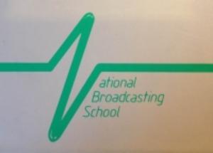 National Broadcasting School - National Broadcasting School logo 1980-85