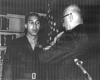 Ricardo C. Binns United States Marine Corps Navy Cross recipient