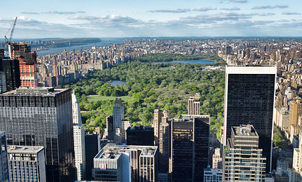 Central Park in New York City is the most-visited urban park in the U.S. NYC - Manhattan - Central-Park.jpg