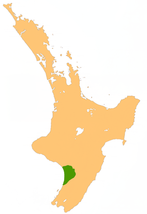 Manawatu Plains - Location of the Manawatu Plains