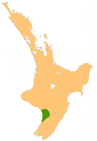 Manawatu Plains - Location of the Manawatu Plains