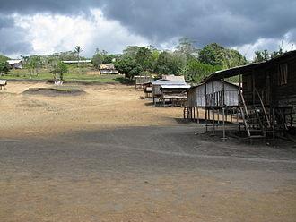 Kokoda Track - Naduri Village along the track