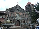 Nagcarlan Church facade in Laguna province.jpg