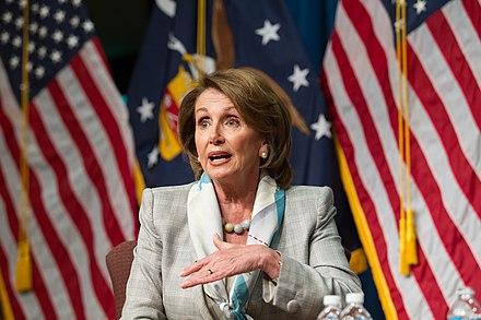 Nancy Pelosi, From WikimediaPhotos