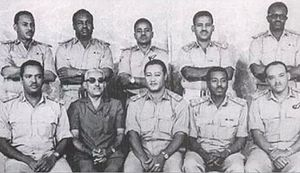 1969 Sudanese coup d'état - Members of the National Revolutionary Command Council