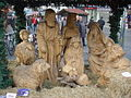 Nativity scene on Church Street, Liverpool.JPG