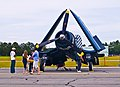Navy F4U Corsair with Wings Folded (4600347061).jpg