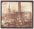 Nelson's Column under Construction, Trafalgar Square MET DP210935.jpg