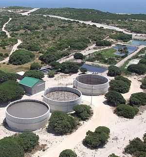 Aerobic granulation - Full-scale municipal sewage Nereda application (4000 m3.d-1) at the Gansbaai STP in South Africa