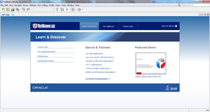 Screenshot di NetBeans