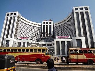 Central Bus Station Thiruvananthapuram - KSRTC Bus Terminal Complex at Thampanoor, Thiruvananthapuram