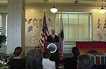 New Mexico Congressman Steve Pearce speaking at Department of Interior headquarters signing event for federal-state-tribal agreement.jpg