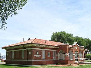 National Register of Historic Places listings in Otero County, New Mexico - Image: New Mexico School for the Blind Tapia building