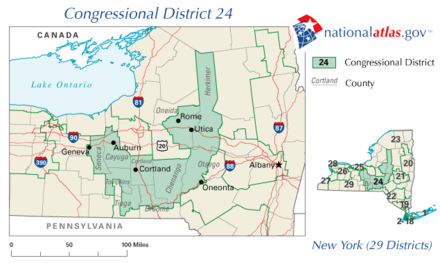 United States House Of Representatives Elections In New York - Us congress ny 25th district map