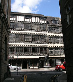 Bessie Surtees House - Image: Newcastle upon Tyne, Bessie Surtee's house