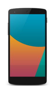 Nexus 5 Android smartphone by Google