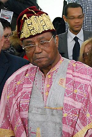 Nicéphore Soglo - Image: Nicéphore Soglo mars 2012