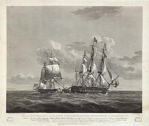 Nicholas Pocock, the Capture of HMS Java.jpg