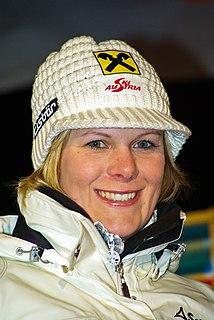 Nicole Hosp austrian alpine skier