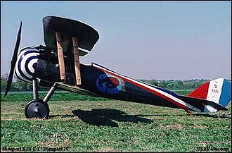 United States Army Air Service - Nieuport 28 in 95th Aero Squadron markings