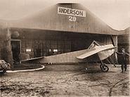 Nieuport Monoplane Ernest Anderson 2