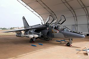 Nigerian Air Force - NAF Alpha Jet upgraded