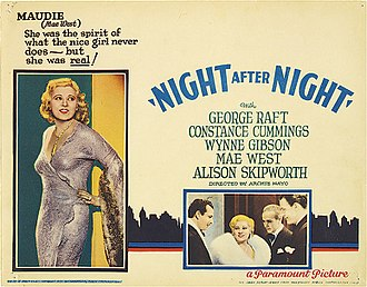 Night After Night (film) - theatrical release poster
