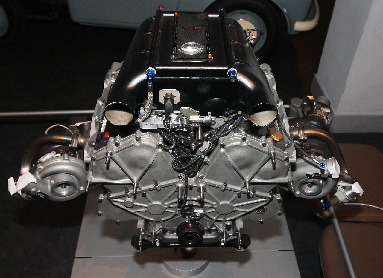 File Nissan Vq30dett Engine Top Nissan Engine