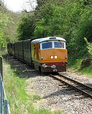 "Bure Valley Railway - Image: No 3 ""2nd Air Division USAAF"" diesel locomotive geograph.org.uk 1272886"