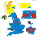 Non scientific hypothetical results of the 2020 general election in the UK if current polling holds.png