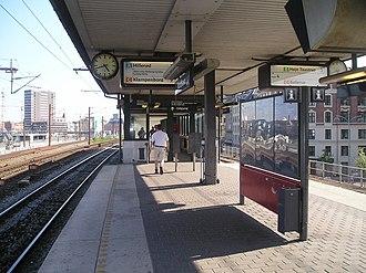 Nordhavn station - Image: Nordhavn Station 05