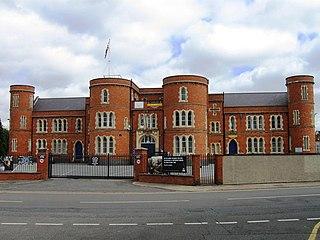 Clare Street drill hall, Northampton