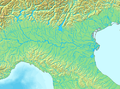 Northern Italy river blank map.png