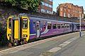 Northern Rail Class 156, 156423, platform 2, Wigan Wallgate railway station (geograph 4512875).jpg