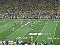 Notre Dame vs. Michigan football 2013 15 (Michigan on offense).jpg