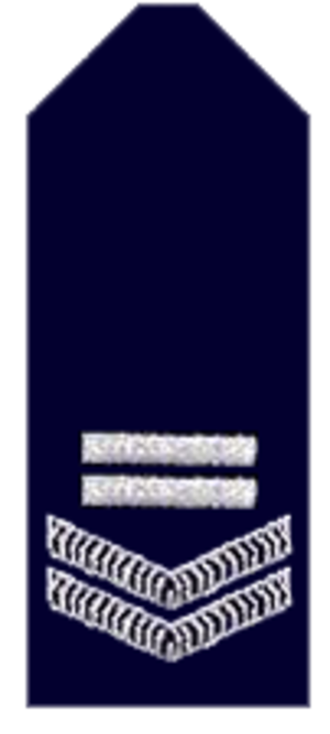Constable - Rank epaulette of a leading senior constable of the New South Wales Police Force