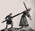 Nuestro Padre Jesús de la Pasión acompañado por el Cirineo Grabado del XIX.jpg