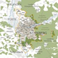 Map Of Germany Erlangen.Nuremberg Wikipedia