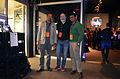 Nurunnaby Chowdhury Hasive, Mark Surman and Subhashish Panigrahi at Mozilla Berlin Hackshibition.JPG