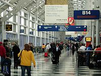 O'Hare International Airport Terminal 1 - Concourse B