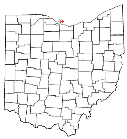 Location of Marblehead, Ohio