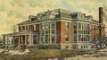 Oakdale TB Sanitarium, original hall 1908.tif