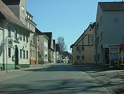 Oberer Markt in Obergünzburg
