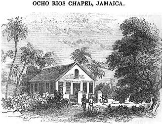 Ocho Rios - Ocho Rios Chapel, Jamaica (1850)