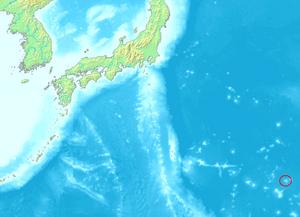Minami-Tori-shima - Image: Ogasawara Minamitorishima