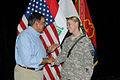 Ohio Guard soldier Defense Secretary in Iraq one week after July 4 phone call 110711-A-OT568-095.jpg